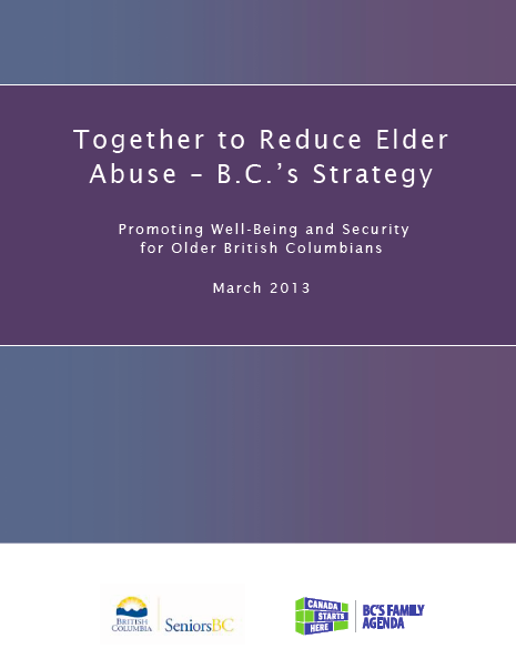 BC Elder Abuse Strategy