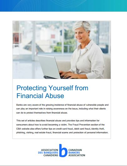 Protecting Yourself from Financial Abuse