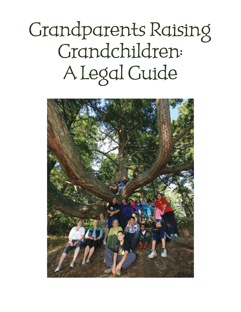 Grandparents Raising Grandchildren A Legal Guide