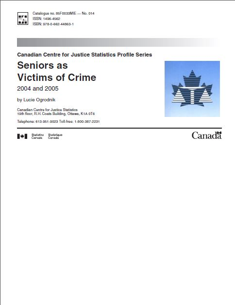 Seniors as Victims of Crime