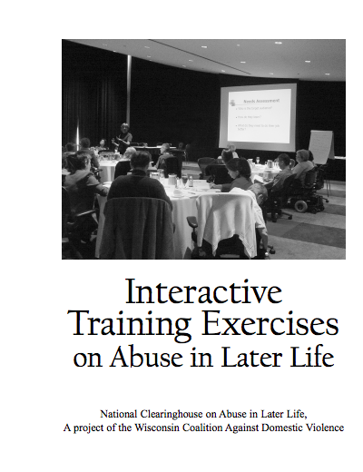 Interactive Training Exercises on Abuse in Later Life