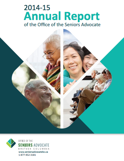 Seniors Advocate Annual Report