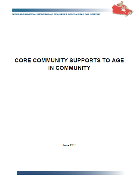 cover corecommunitysupports esdc 2019