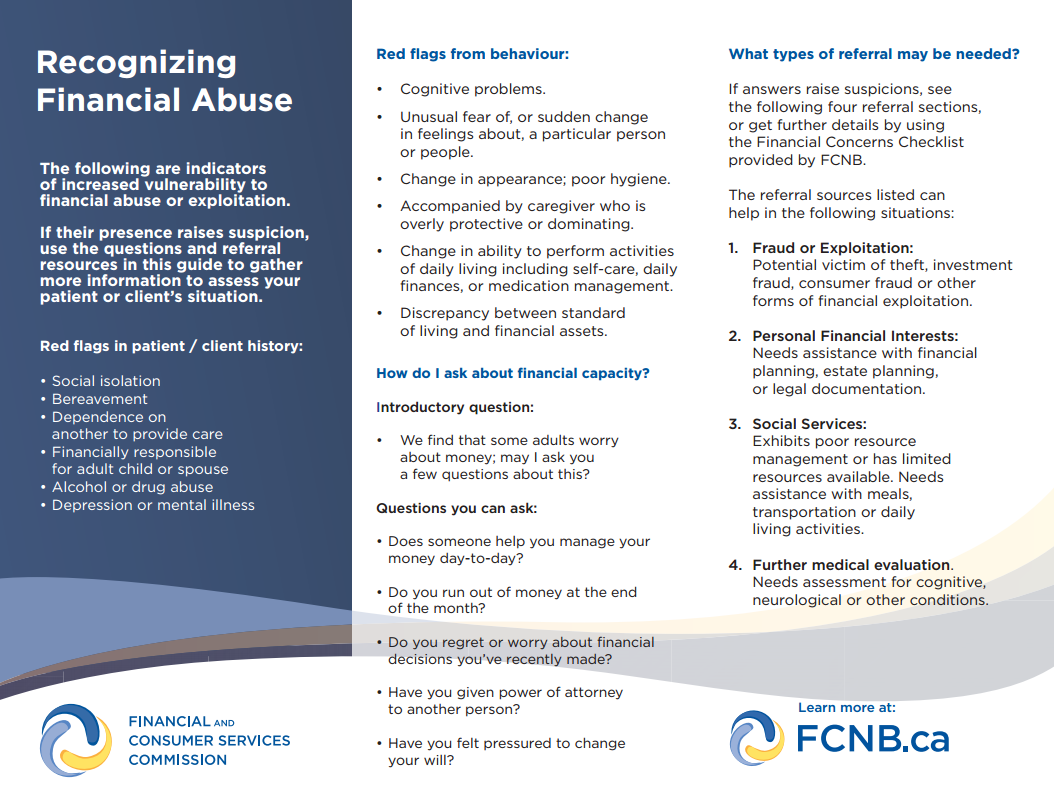 recognizefinancialabuse brochure fcnb