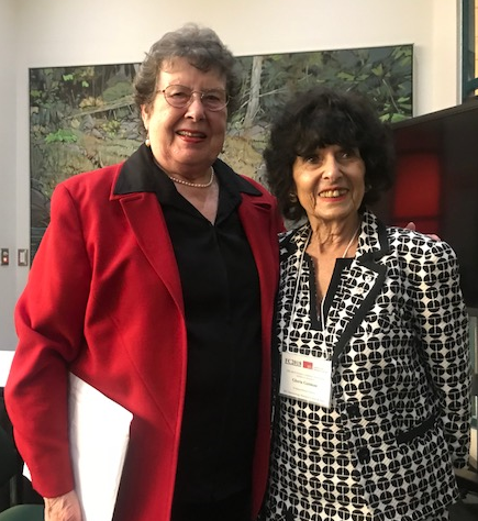 Sherry Baker (BCCRN) and Gloria Gutman (SFU Gerontology)