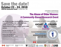 The Abuse of Older Women - A Community-Based Research  Event