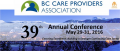 2016 Annual BC Care Providers Association Conference